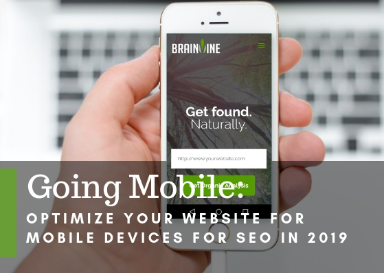 Going Mobile: Optimize Your Website for Mobile Devices for SEO in 2019