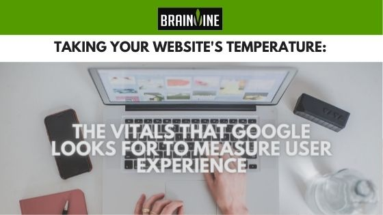 Taking Your Website's Temperature: The Vitals that Google Looks for to Measure User Experience